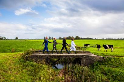 'Oer de Grinzen' klimaatevent voor heel Fryslân