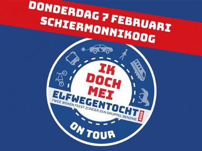 Persbericht: Fossielvrije Elfwegentocht On Tour start op Schiermonnikoog