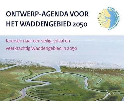 Reageer op de ontwerp-Agenda voor het Waddengebied 2050