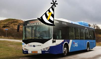 Busdienst Schiermonnikoog nummer 1 van Nederland