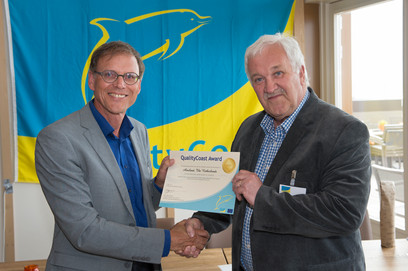 Ameland ontvangt gouden QualityCoast Award 2015/2016