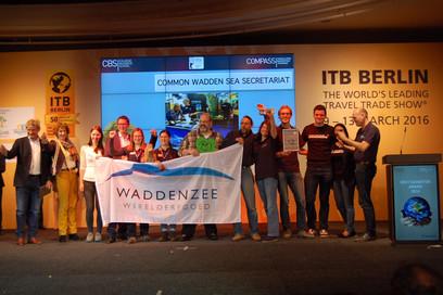 Werelderfgoed Waddenzee wint 3de prijs