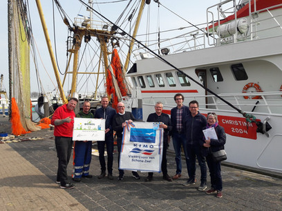 Texel ondertekend Green Deal Visserij voor een Schone Zee