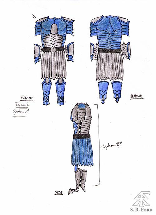 Vagan Armor Fallon Concept