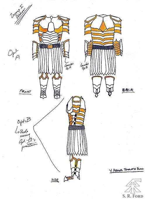 Vagan Armor Zarrys Concept