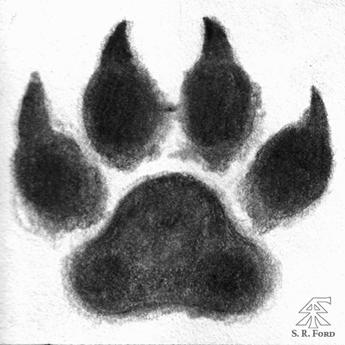 Mimgardr - Wolf Paw Print