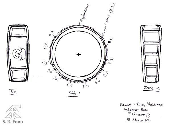 Naminé Ring Concept