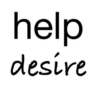 help desire.