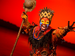 Lion King at The Orpheum Theater