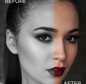 Makeup, licenie, foto makeup