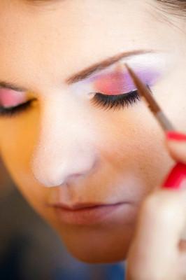 Makeup, obocie, eyebrows, eye liner