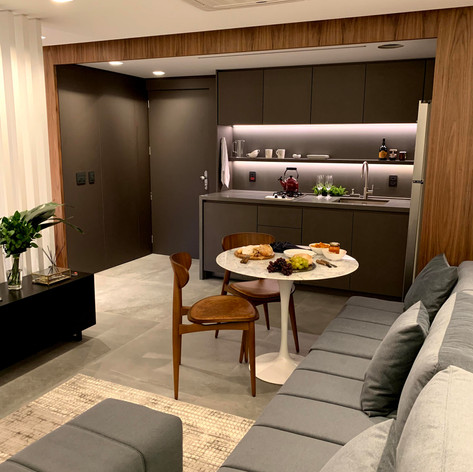 Apartamento CA • Projeto: Ambidestro • Gerenciamento: Lara Litwin GA