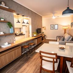 Apartamento EC • Projeto e Gerenciamento: Lara Litwin GA e Wilkens Arq.
