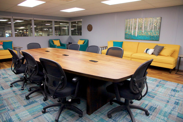 Conference Room Overlooking Manufacturin