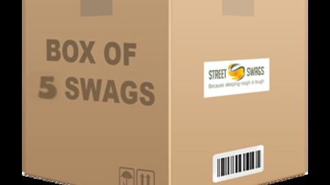 Box of 5 Jumbuck swags