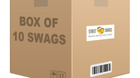 Box of 10 Jumbuck swags