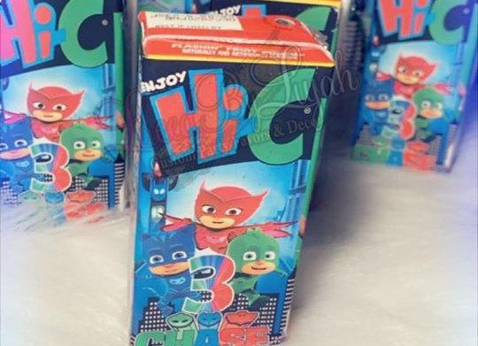 Custom Juice Boxes