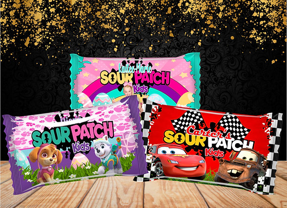 CUSTOM SOUR PATCH KIDS (BAGS)
