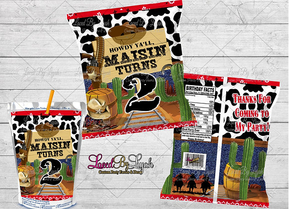 Custom Digital Treat Wrappers
