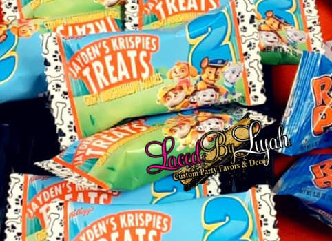 CUSTOM RICE KRISPIES TREATS