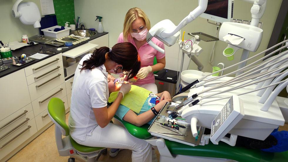 Ošetření pacienta v DentMode