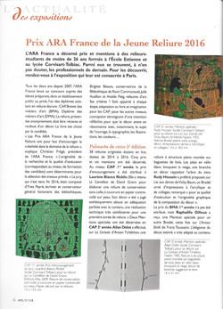 Art & Métiers du livre n°318