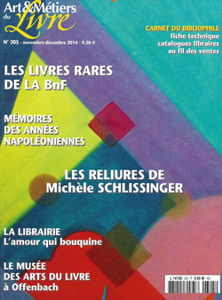 Art & métiers du livre n°305