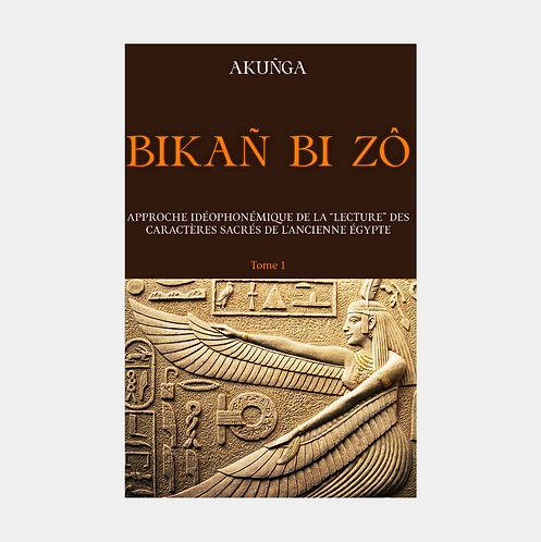 BIKAÑ BI ZÔ - Décodage Idéophonémique des Hiéroglyphes