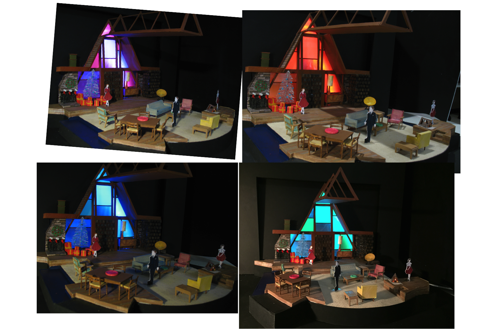 Nora: model showing light changes