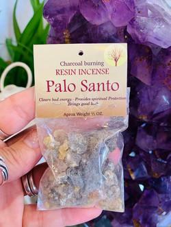 Palo Santo Resin $6