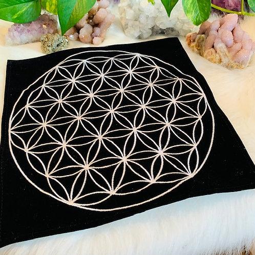 Cloth Flower of Life Grid