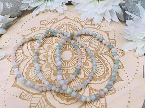 Morganite Bracelet 4mm