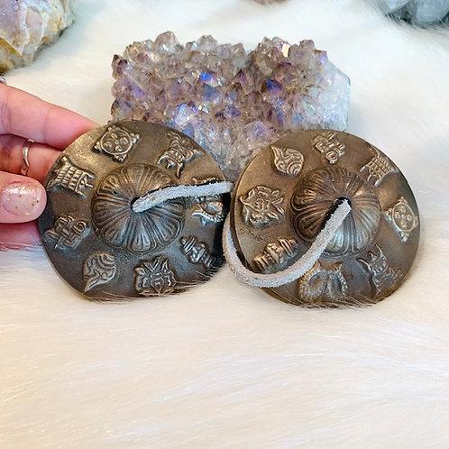 Decorative Tibetan Ting Sha Bells