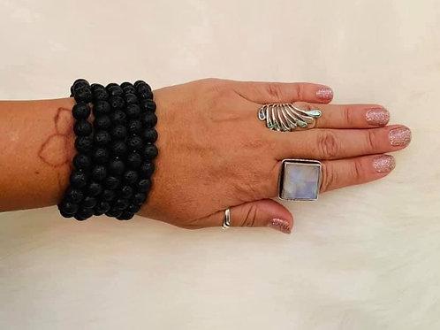 Lava Bead Bracelet 8m