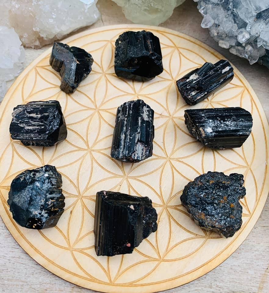 Black Tourmaline RAw Medium $5