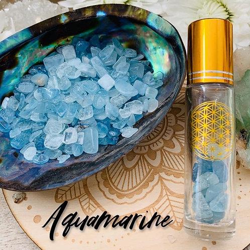 Aquamarine Chips 3oz