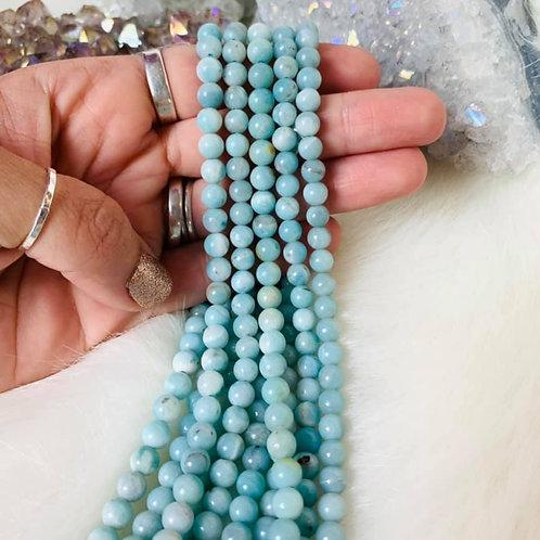Amazonite Bead Strand 6mm