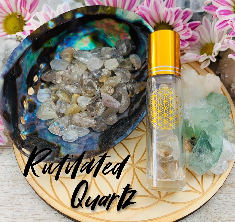 Rutliated Quartz $15