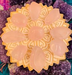 Large Rose Quartz $6