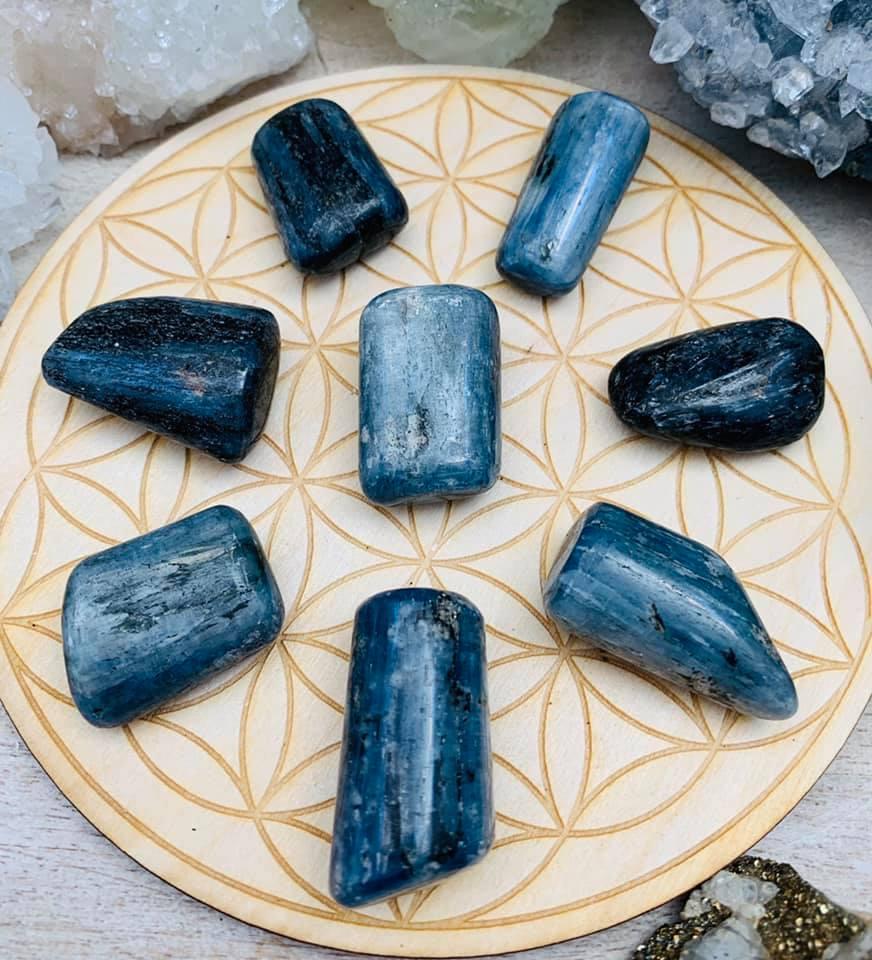 Blue Kyanite Large $8