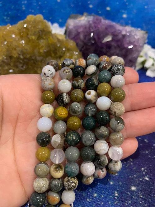 Ocean Jasper Beads 8mm
