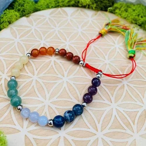 Adjustable Chakra Bracelet