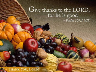 Thanksgiving - Psalm 57