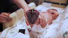 baby feet at birthing center