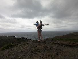 hawaii hike lava