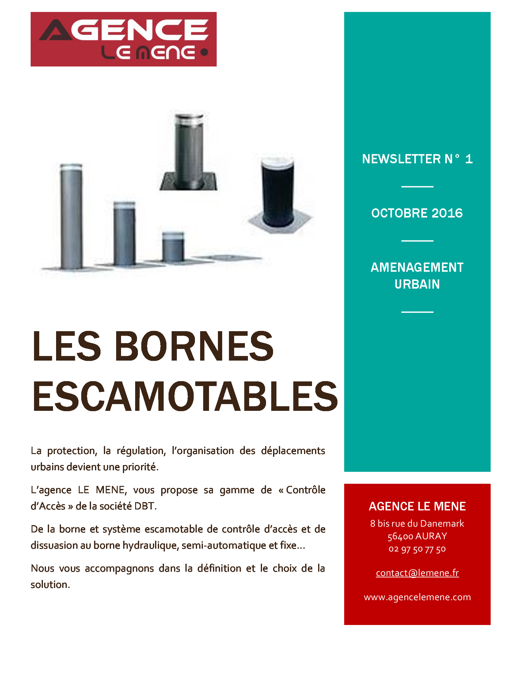 Newsletter Octobre2016