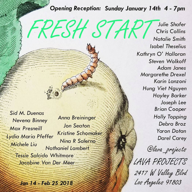 Fresh Start at LAVA Projects