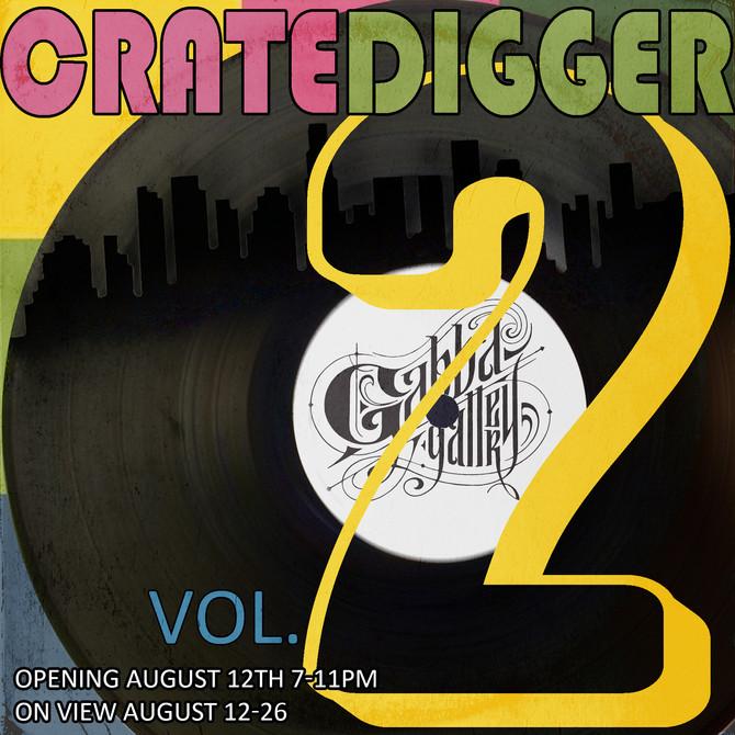 Cratedigger Vol. 2 at Gabba Gallery