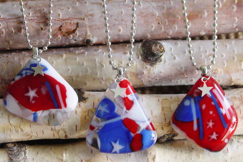 USA necklaces for Vets