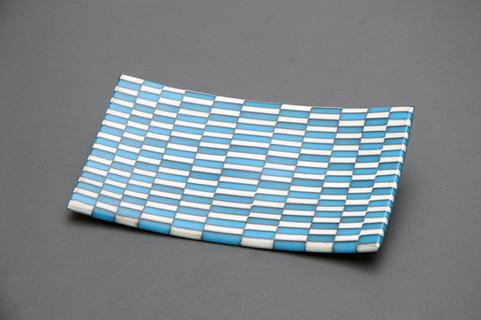 Blue Green Tray